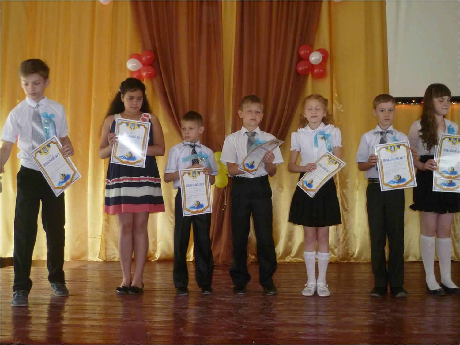 выпуск начальной школы